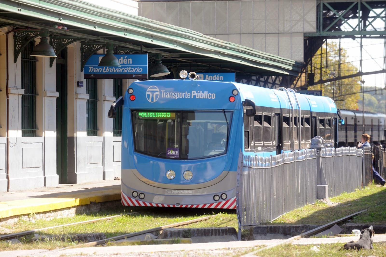 Tren Universitario – Facultad de Informática UNLP