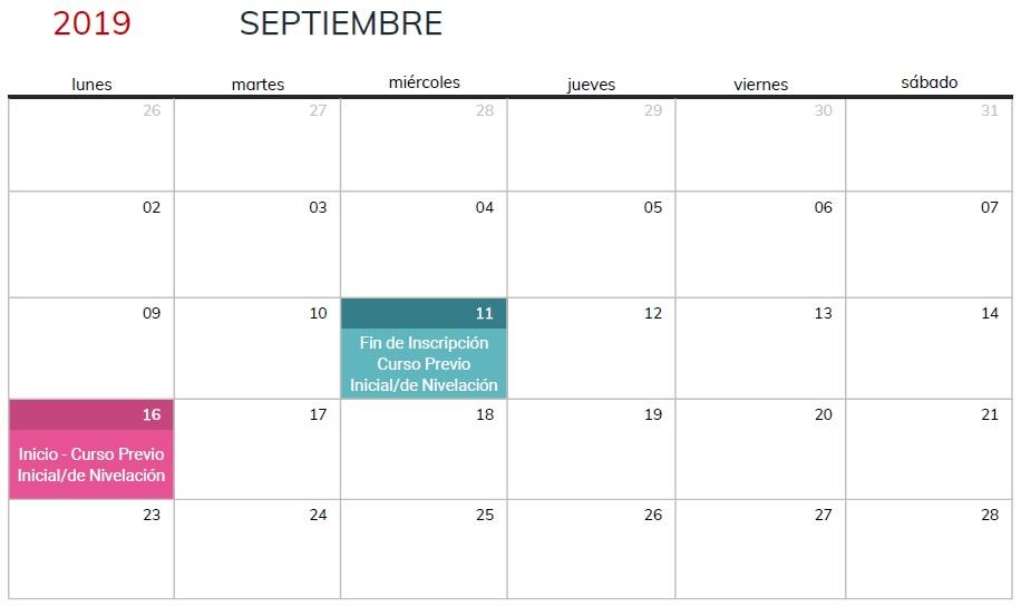 Marzo 2020 Calendario Argentina.Calendario Ingresantes 2020 Facultad De Informatica Unlp